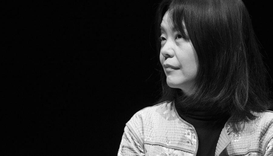 Yoko Tawada på besök i Sverige
