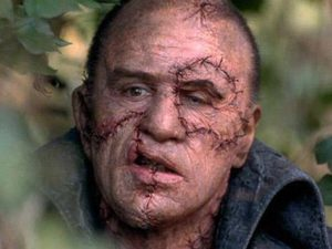 Robert De Niro som Frankensteins monster i Kenneth Brannaghs filmatisering från 1994